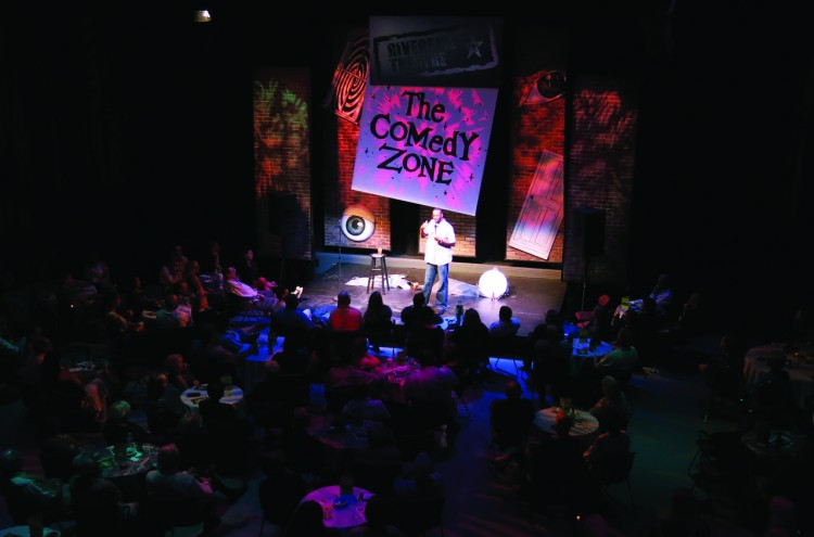 the comedyzone stage