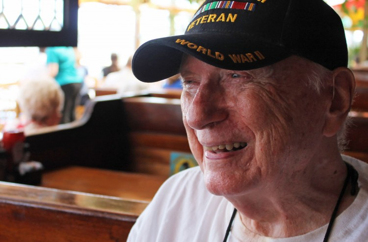 korean war veteran smiling