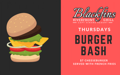 SUMMER SPECIALS | Thursday Burger Bash
