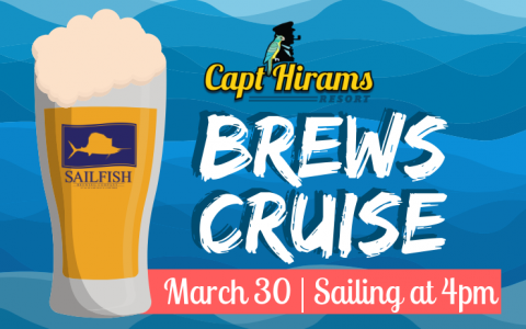 Brews Cruise with Sailfish Brewing Company
