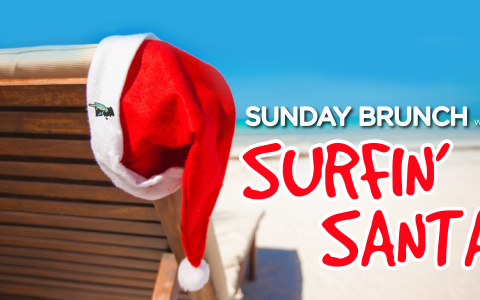 Brunch with Surfin' Santa