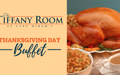 Thanksgiving Day Buffet in the Tiffany Room