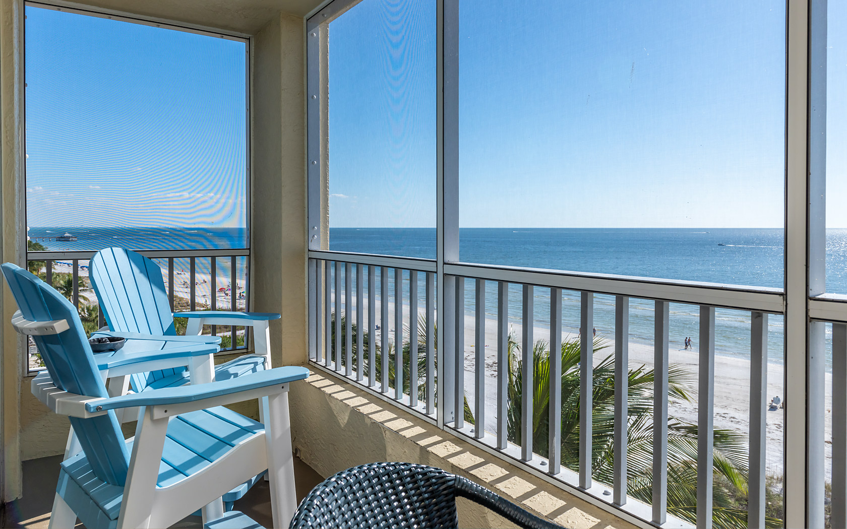 Casa Play Resort Gulfview Suite balcony with oceanfront view