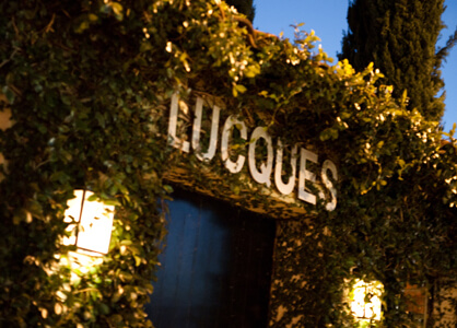 Lucques restaurant entrance