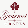 Charming gourmet and grapes