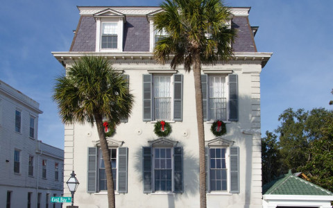 Charleston Home Ready for Christmas