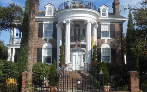 Tristram Hyde House at 74 Murray Boulevard in Charleston South Carolina