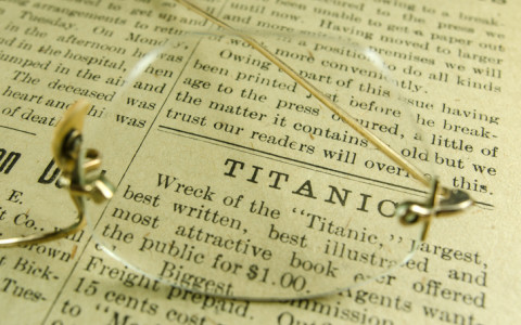 article about the titanic