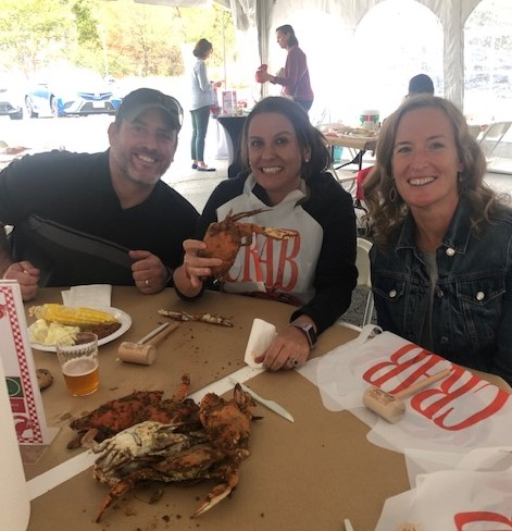 chris carrie mary crab feast