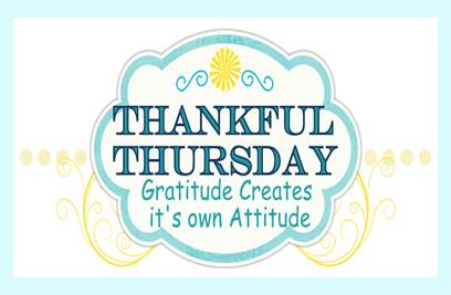 Sign for Thankful Thursday