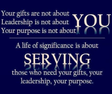 serving others quote