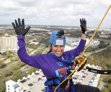 Over The Edge for Give Kids The World