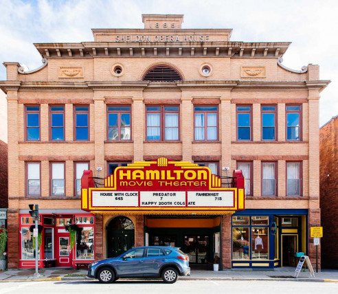 Hamilton movie theatre