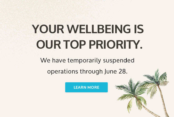 your wellbeing is our top priority
