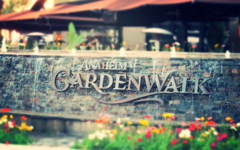 GardenWalk Sign