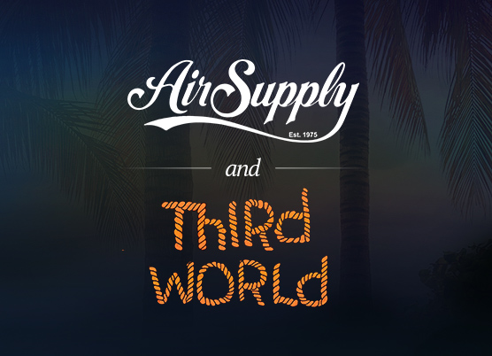 air supply and third world logo