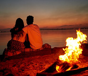 Beach Bonfire image