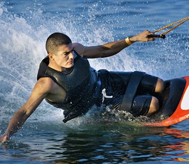 Knee Boarding image