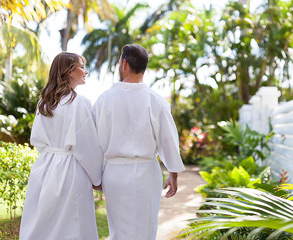couples tower isle oasis spa villas private arrival experience