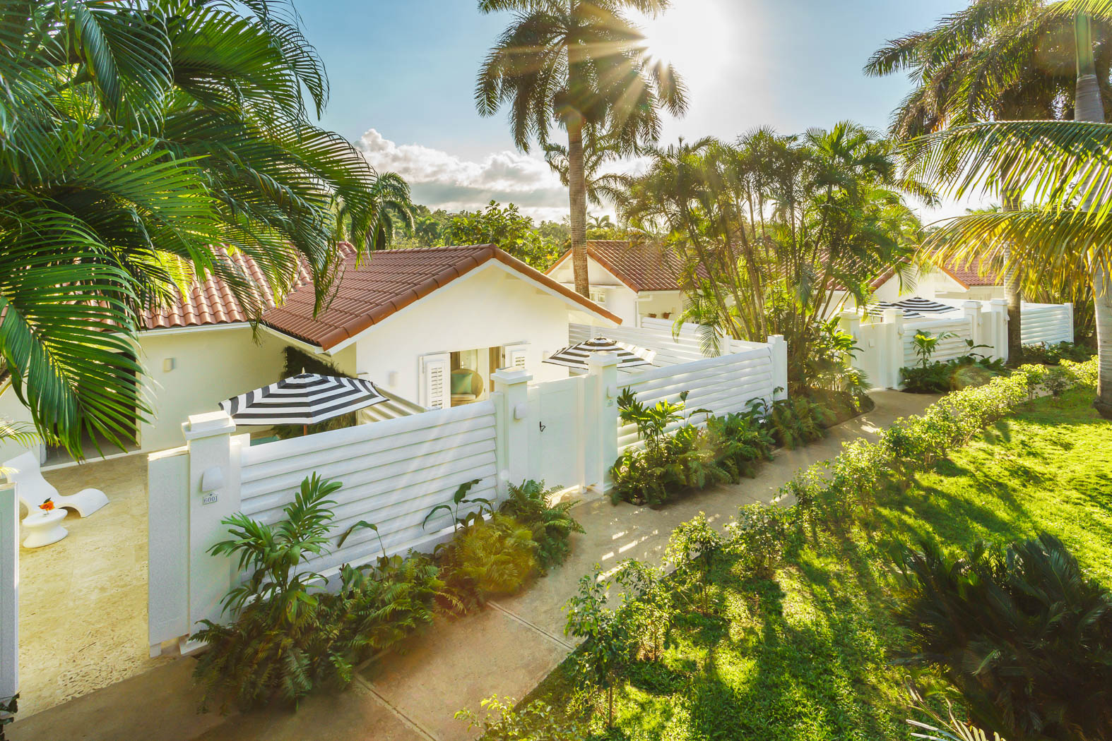 Oasis Spa Villas Overview at Couples Tower Isle