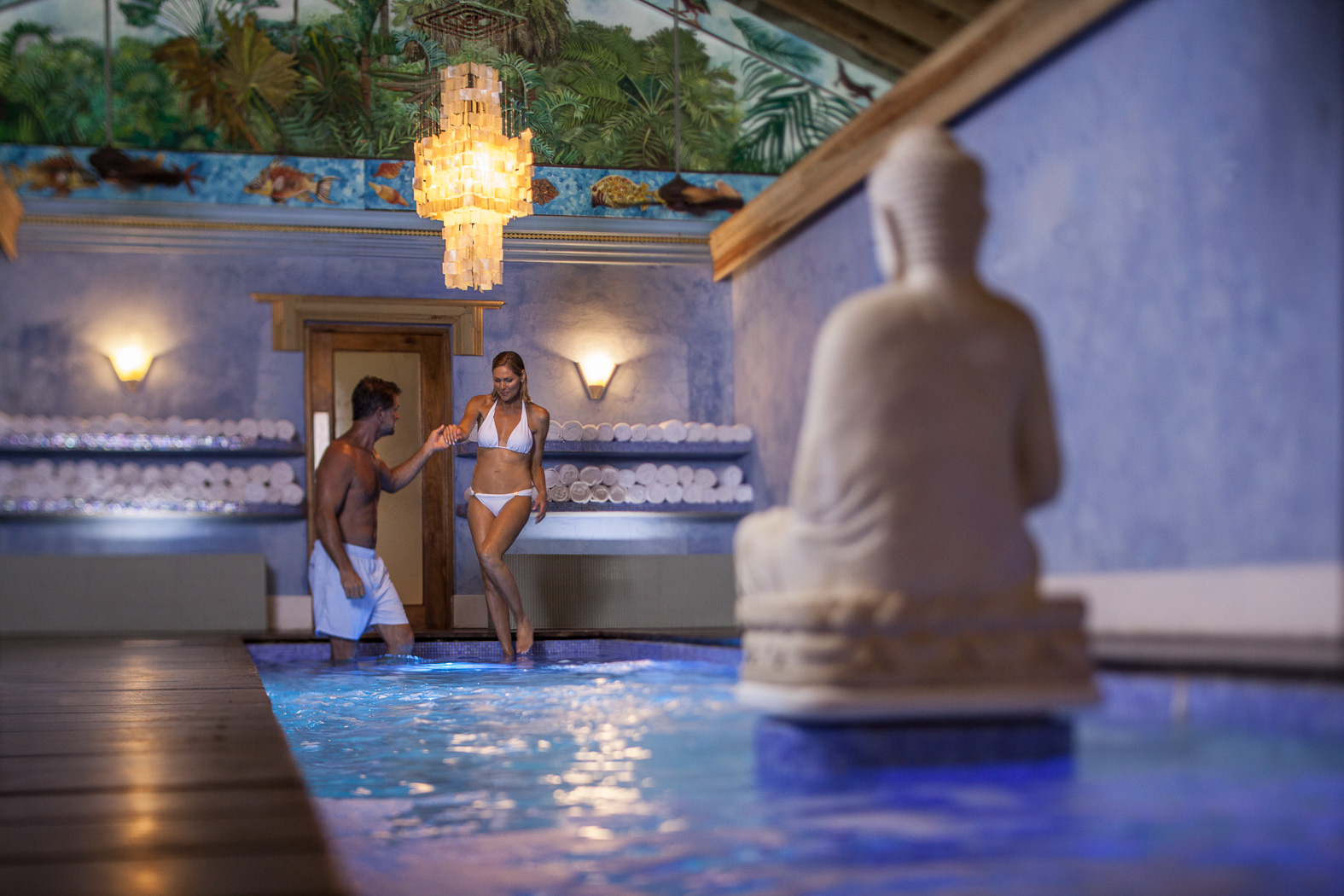 Relax at The Spa at Couples Swept Away