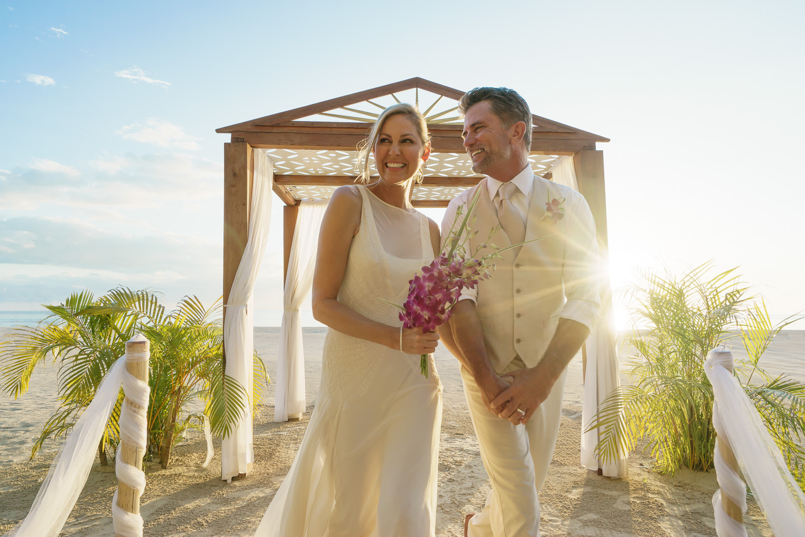 A Wedding In Paradise at Couples Swept Away