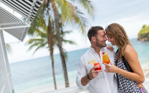 Unlimited Premium Brand Spirits at Couples Tower Isle