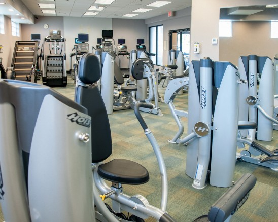 Indoor fitness center