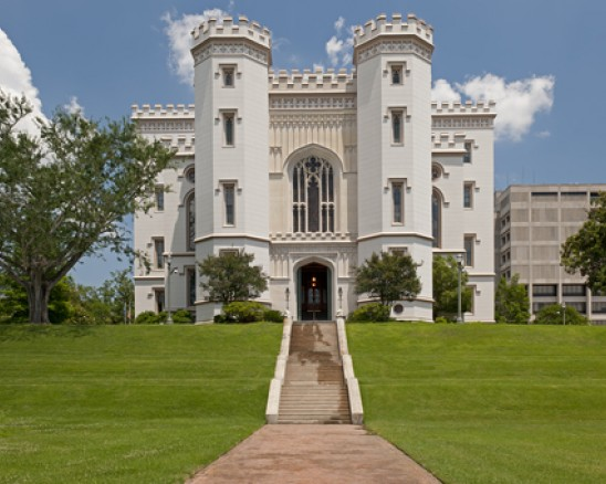 old state capitol building in baton rouge