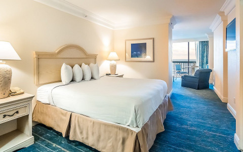 daytona rooms standard oceanfront king suite