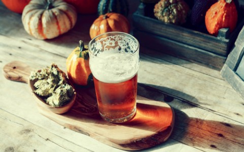 pumpkin flavored beer
