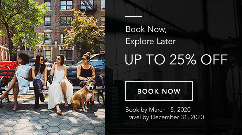 click to book now and explore later with 25% off