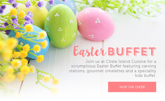 Easter Buffet Popup