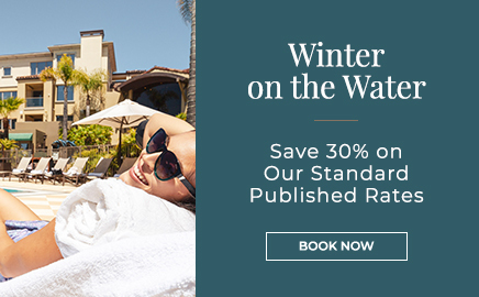 Winter on the Water sale - save 30% on standard rates