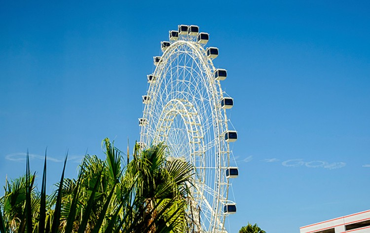 The Coca-Cola Orlando Eye  Inset