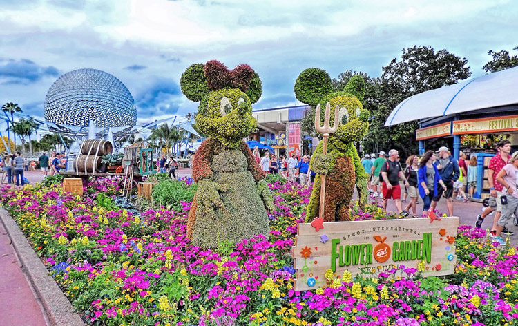 Epcot International Flower <br>and Garden Festival Inset