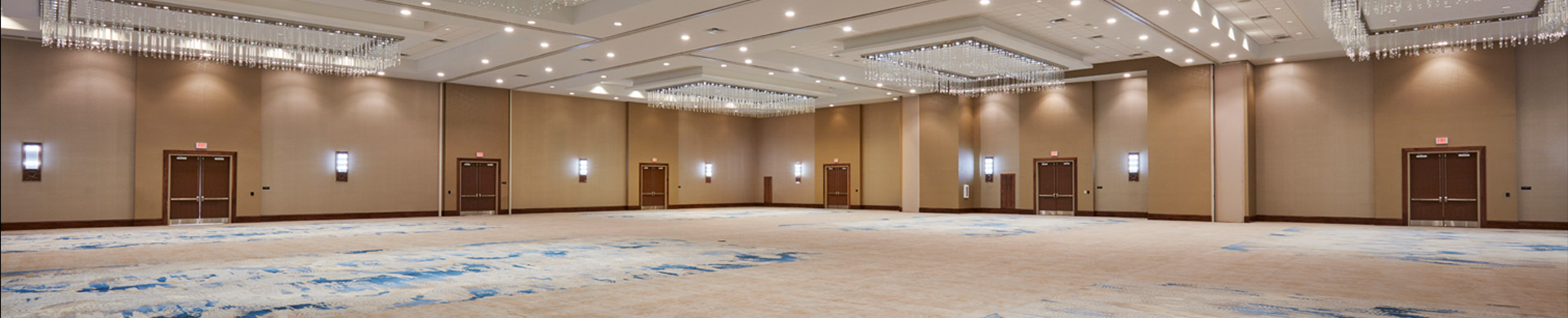 Doubletree By Hilton Orlando Seaworld empty ballroom space