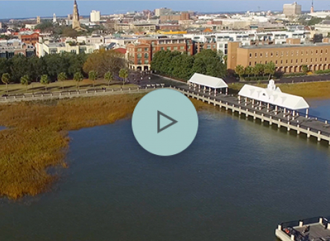 Charleston overview with play button