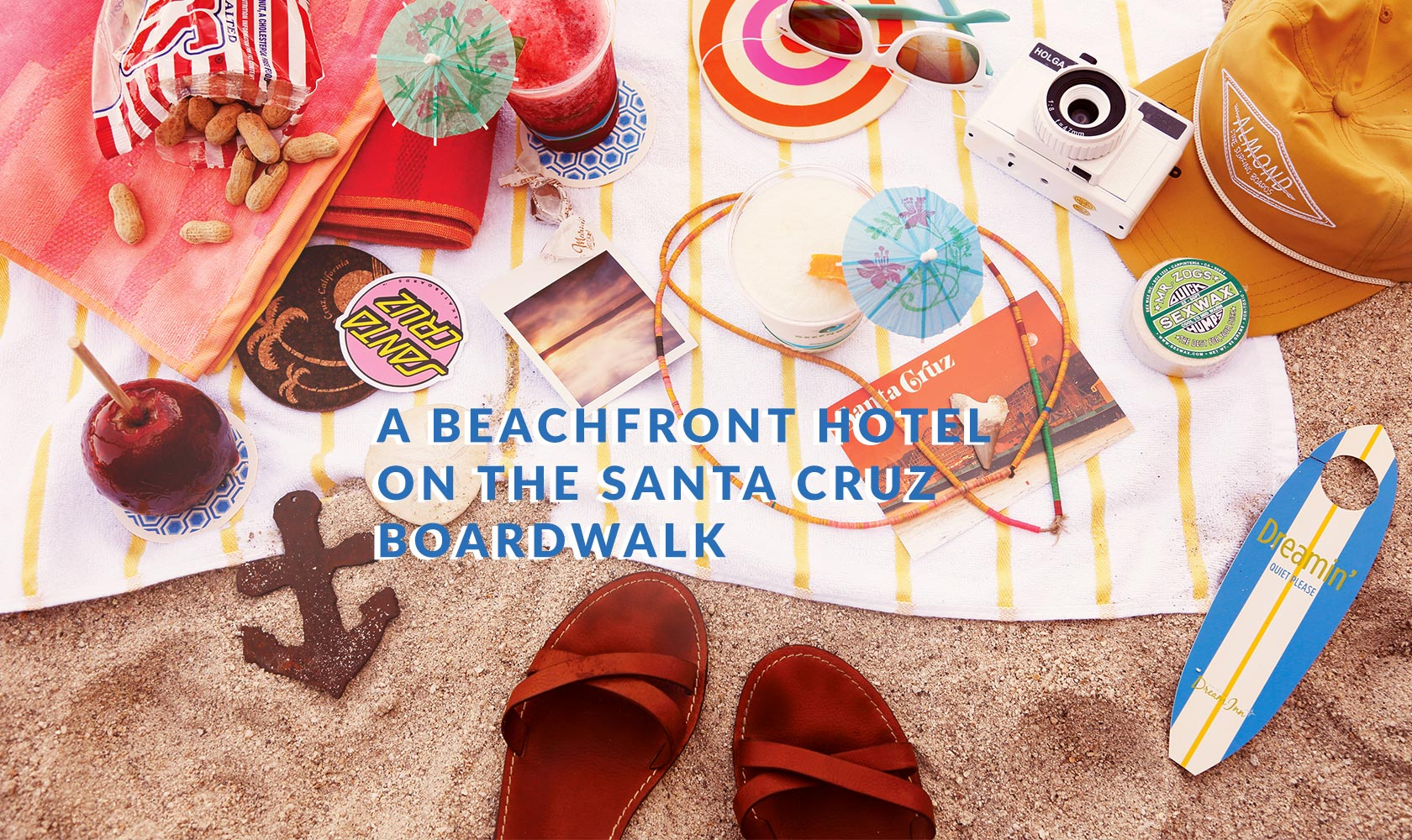 A Beachfront Hotel on the Santa Cruz Boardwalk