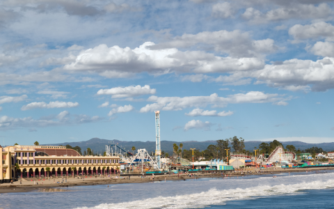 view of Santa Cruz Pier