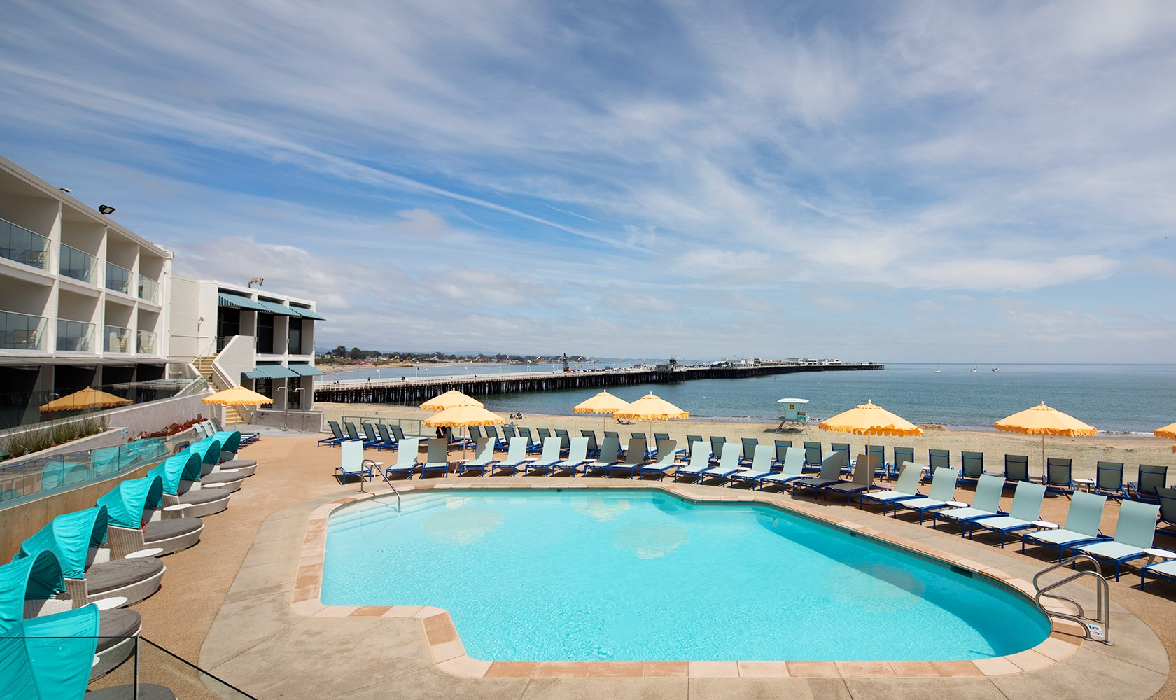 Santa Cruz's Iconic Beachfront Hotel
