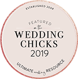 logo wedding chicks