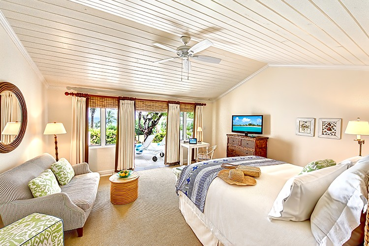 Ocean View Deluxe Cottage with king bed