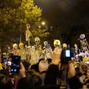 Halloween Parade Crowd