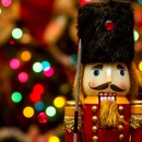 colorful picture of a nutcracker doll