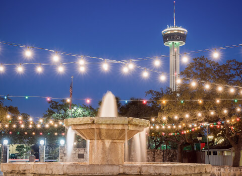 San Antonio Riverwalk attractions