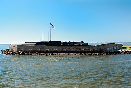 Fort Sumter from the water