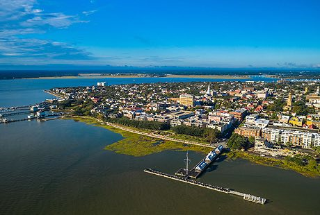 charleston waterfront
