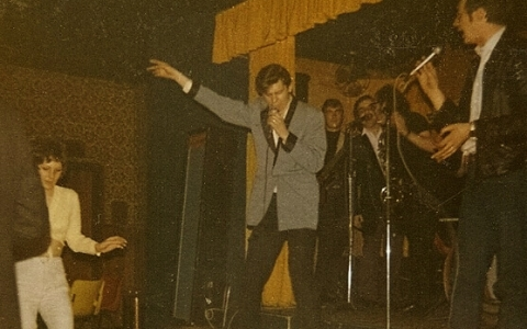 Walsall 1974 Shakin Stevens and the Sunsets
