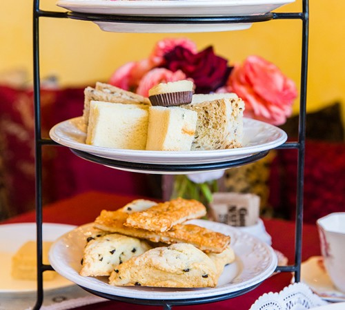 biscuits and scones on tier-1